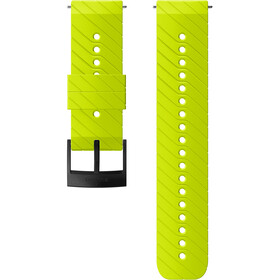 Suunto Athletic 3 Bracelet de montre en silicone, lime/black